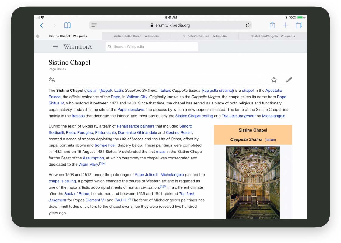 Dragging links or texts from Safari into Things
